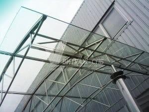 стеклянный козырек