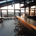 Панорамный ресторан-бар на крыше отеля «АГЛАЯ КОРТЪЯРД»-Витраж СПб