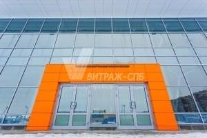 Типы конструкций фасадного остекления-Витраж СПб