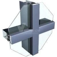 Алюминиевые витражи: остекление фасадов-Витраж СПб